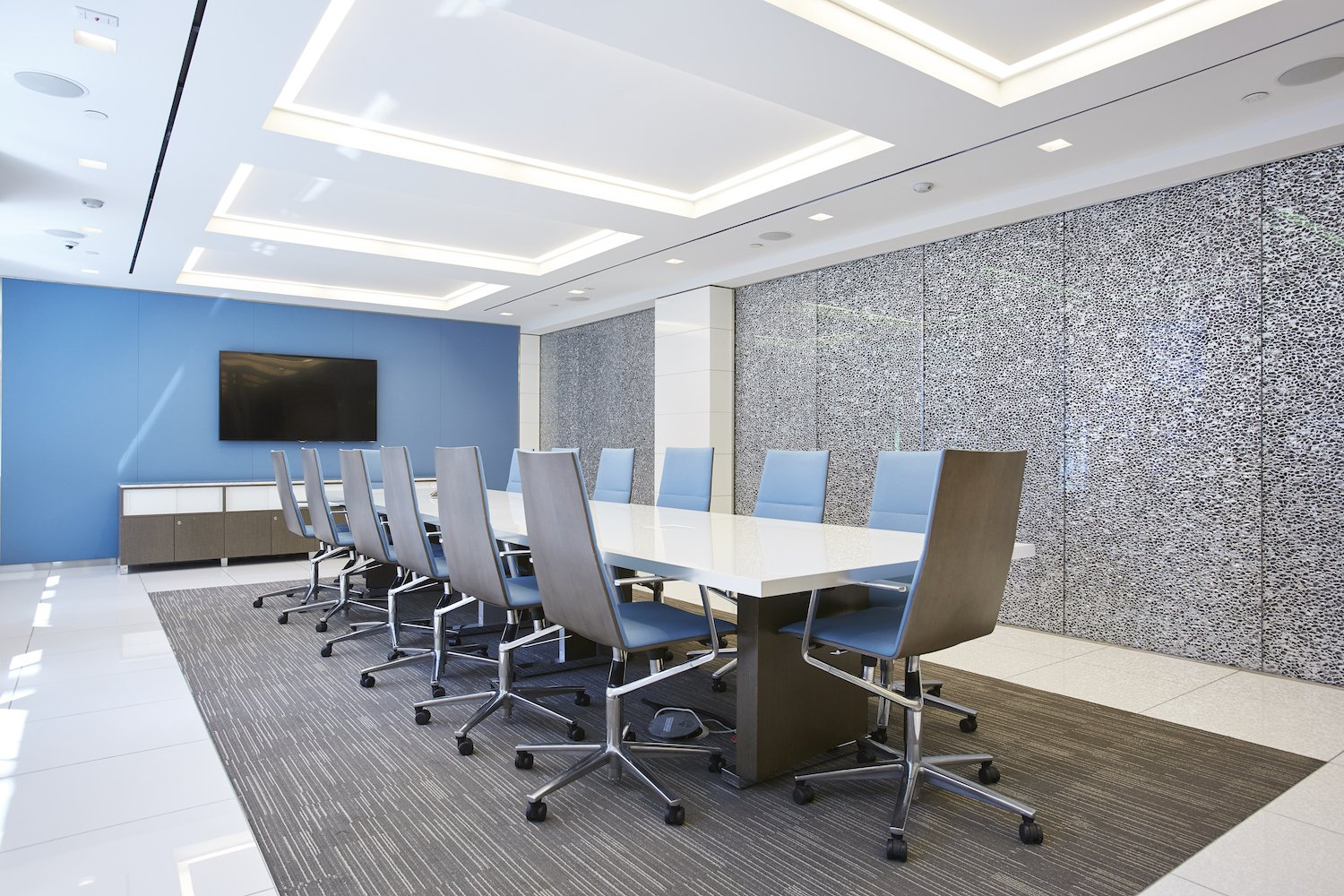 Meeting Room with long table