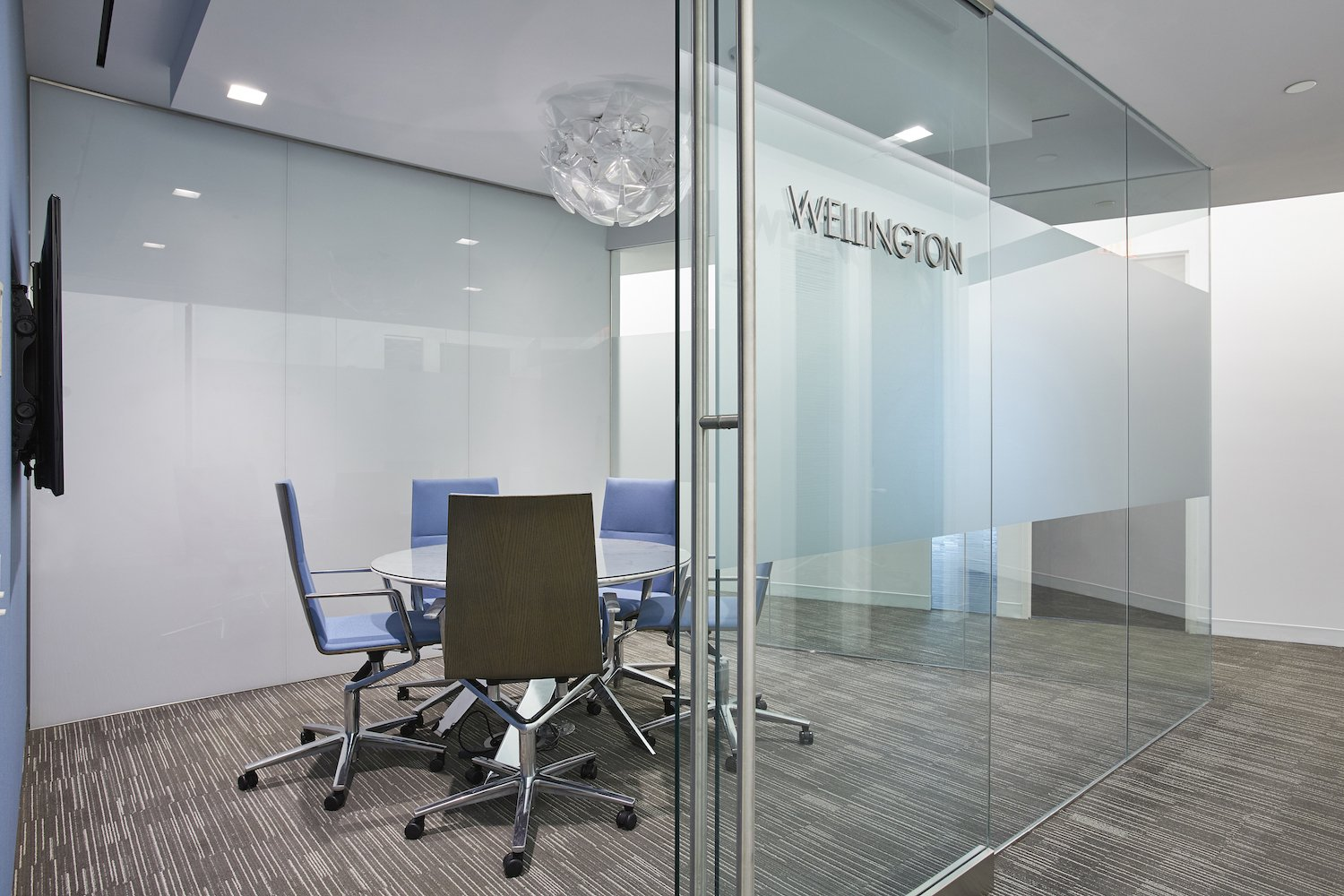 Wellington Meeting Room with Glass walls